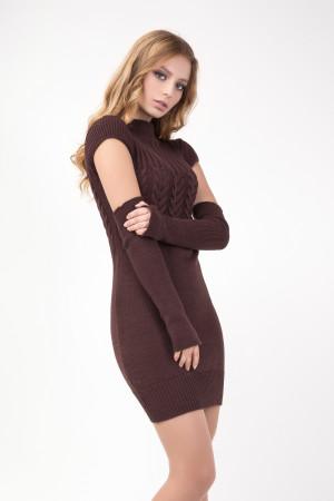 Сукня «Кетлін» коричневого кольору