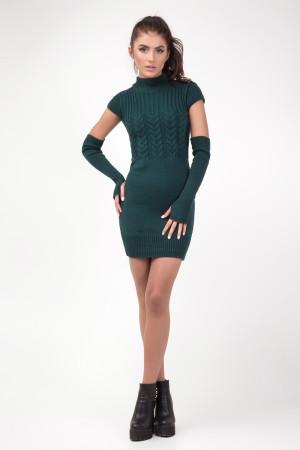 Сукня «Кетлін» темно-зеленого кольору