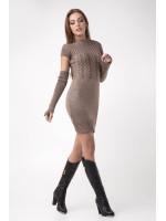Сукня «Кетлін» кольору капучино