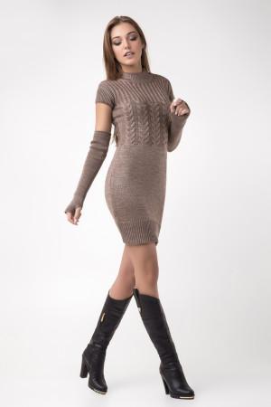 Платье «Кэтлин» цвета капучино