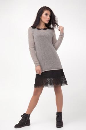 Платье «Хизер» цвета латте