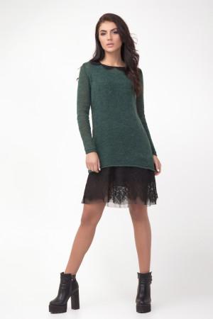 Платье «Хизер» зеленого цвета