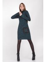 Сукня «Анастасія» бірюзового кольору