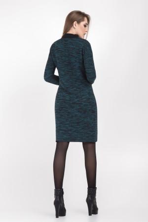 Платье «Анастасия» бирюзового цвета