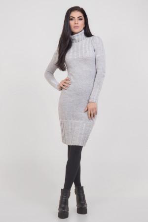 Платье «Мэрайя» светло-серого цвета