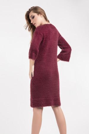 Сукня «Карен» кольору марсала