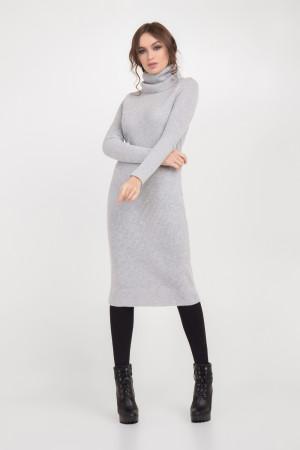 Платье «Белинда» светло-серого цвета