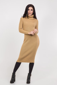 Платье «Белинда» цвета карамель