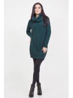 Платье «Ивонна» темно-зеленого цвета