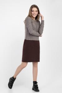 Сукня «Олександра» коричневого кольору