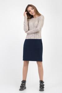 Сукня «Олександра» синього кольору