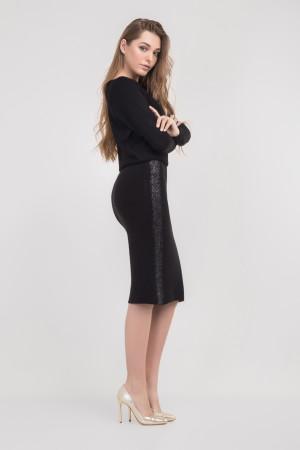 Юбка «Клэр» черного цвета