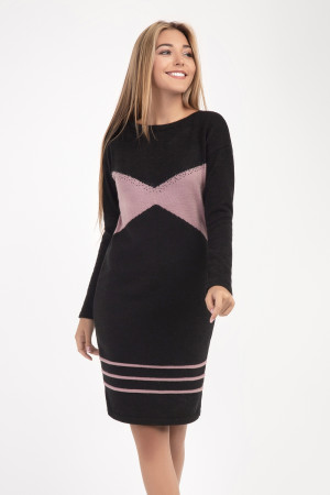 Сукня «Естер» чорного кольору