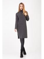 Сукня-туніка «Амаль» темно-сірого кольору