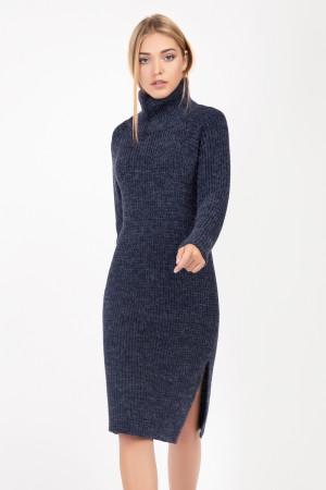 Платье-туника «Амаль» синего цвета