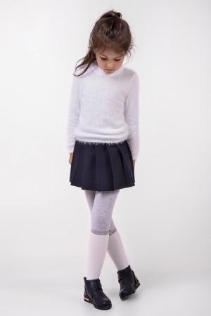 Джемпер «Травичка» білого кольору
