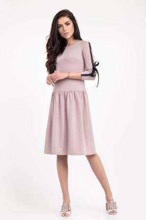 Платье «Эбби» цвета дымчатой розы