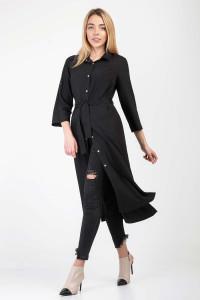 Сукня-сорочка «Айвен» чорного кольору