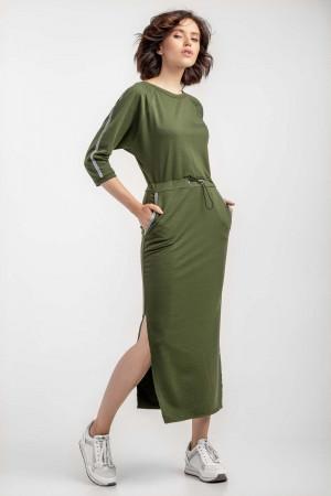 Сукня «Ксенія» кольору хакі