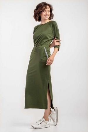 Платье «Ксения» цвета хаки