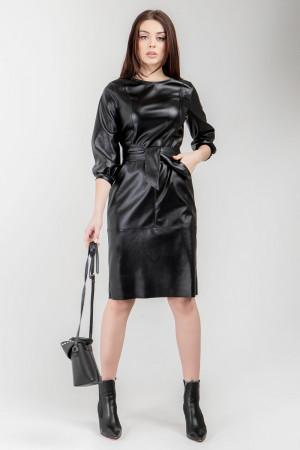 Платье «Уинни» черного цвета