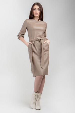 Платье «Уинни» бежевого цвета