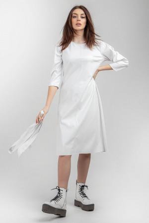 Платье «Зоуи» белого цвета