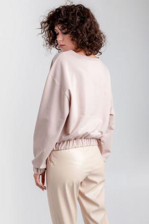 Блузон «Тринти» цвета пудры