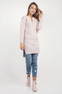 Туника «Комодо» цвета розовый меланж