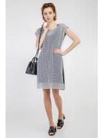 Комплект джемпер і сукня «Мішель» сірого кольору