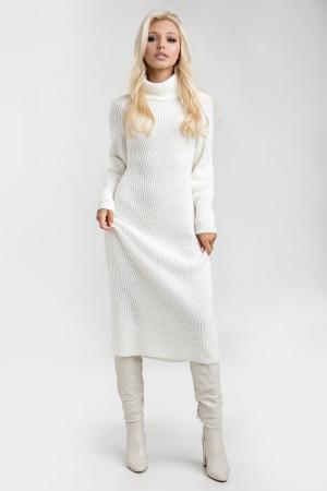 Сукня «Ірбіс» молочного кольору