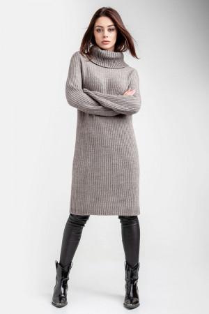 Сукня-светр «Коган» сіро-бежевого кольору