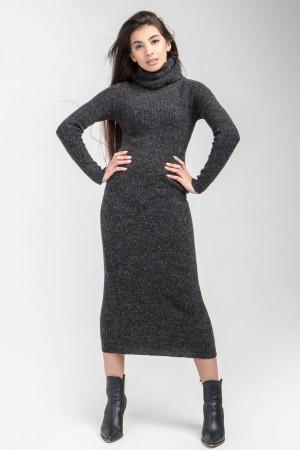 Сукня «Юміс» антрацитового кольору