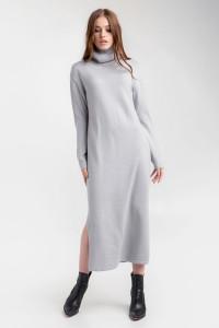 Платье «Марута» стального цвета