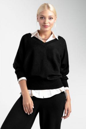 Джемпер «Рене» черного цвета