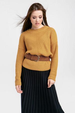 Джемпер «Буран» темно-желтого цвета