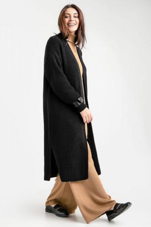 Кардиган «Одиль» черного цвета