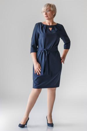 Платье «Рэйвен» синего цвета