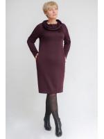 Сукня «Каміра» бордового кольору