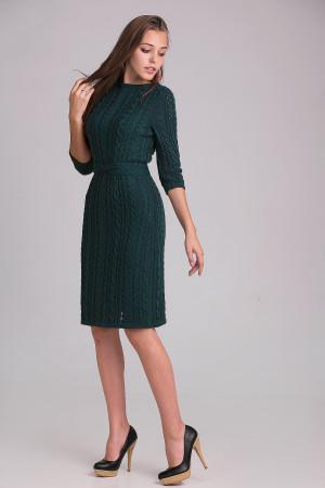 Платье «Сара» темно-зеленого цвета
