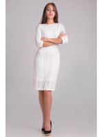 Платье «Сара» молочного цвета