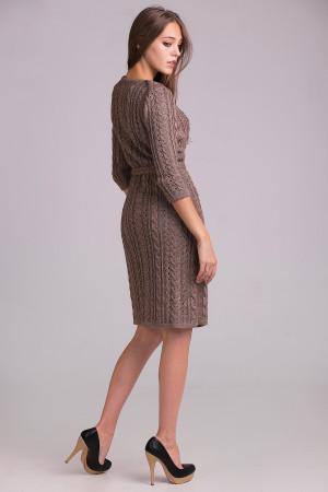 Платье «Сара» цвета капучино