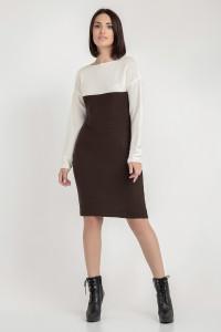 Сукня «Сильвія» коричневого кольору