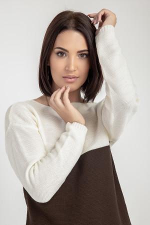 Платье «Сильвия» коричневого цвета