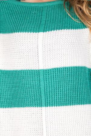 Джемпер «Патио» мятного цвета