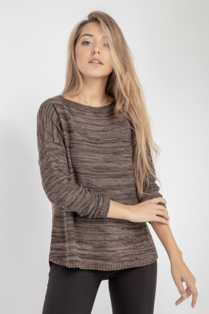 Джемпер «Эльруидо» коричневого цвета