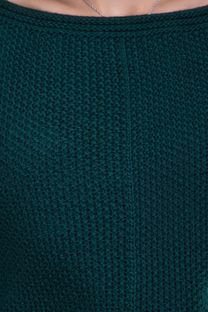 Джемпер «Шандаль» бутылочного цвета