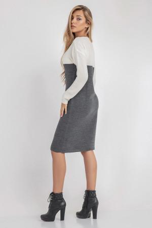 Сукня «Сильвія» темно-сірого кольору