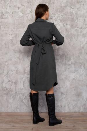Сукня «Таска» сірого кольору