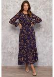 Сукня «Люція» синього кольору